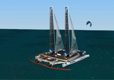 Le Manta d'Yvan Bourgnon : le bateau révolutionnaire pour nettoyer l'océan de plastique